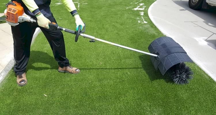 Artificial grass installation repair