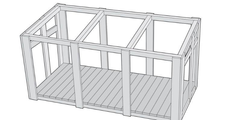 how to build a greenhouse step 6