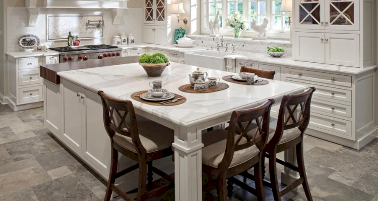 How to build a kitchen island 1