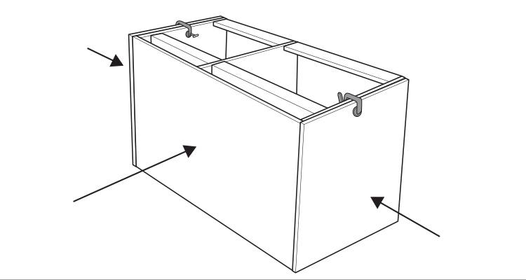 how to build a kitchen island step 9