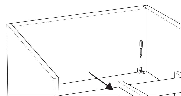 how to build a kitchen island step 10