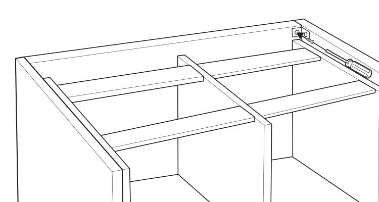 how to build a kitchen island step 11