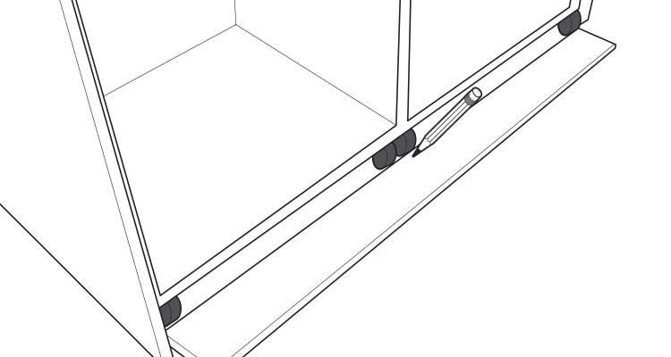 how to build a kitchen island step 13
