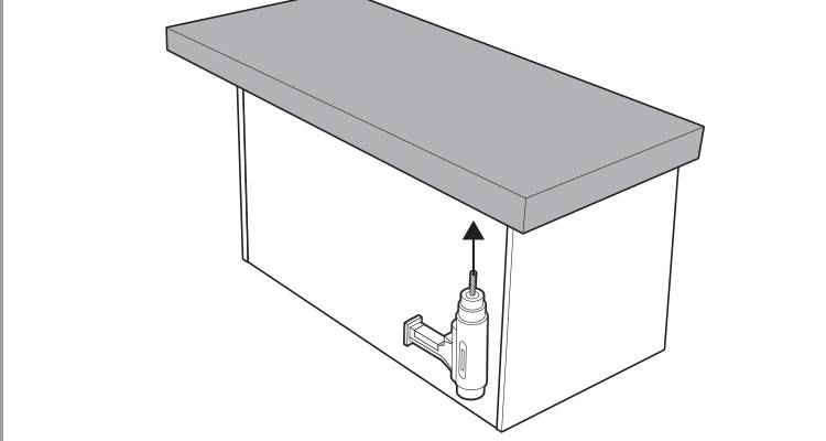 how to build a kitchen island step 16