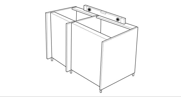 how to build a kitchen island step 3