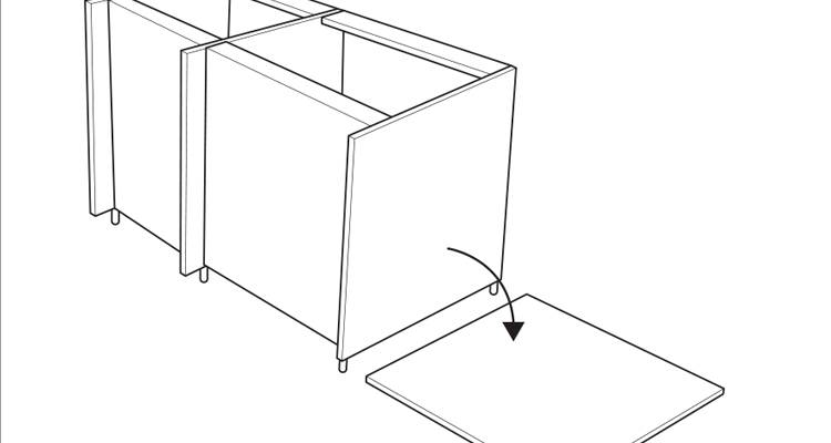 how to build a kitchen island step 7