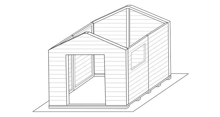how to build a shed step 5