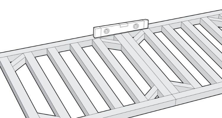 How to build a summer house step 2