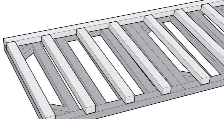 How to build a summer house step 3