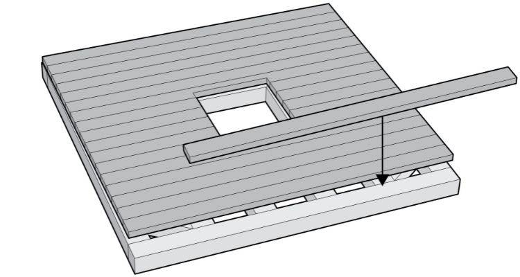 How to build a summer house step 14