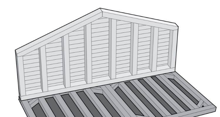 How to build a summer house step 17