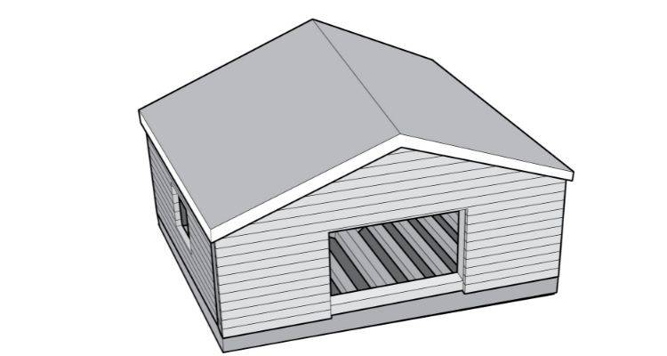 How to build a summer house step 18