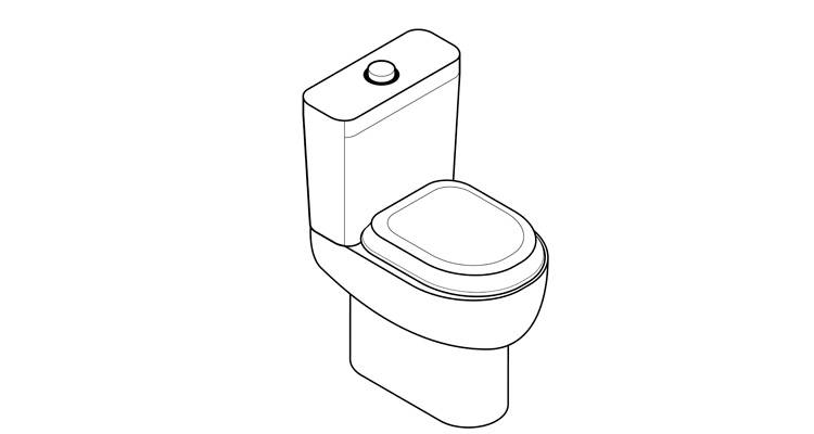 how to change a toilet seat step 6