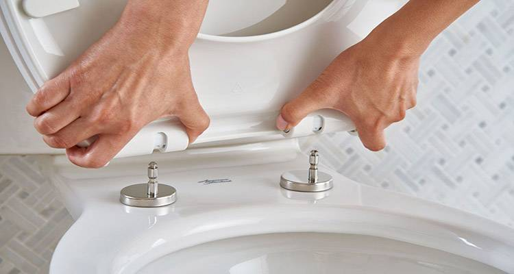 how to change a toilet seat 2