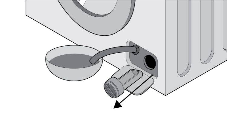 how to clean a washing machine step 4