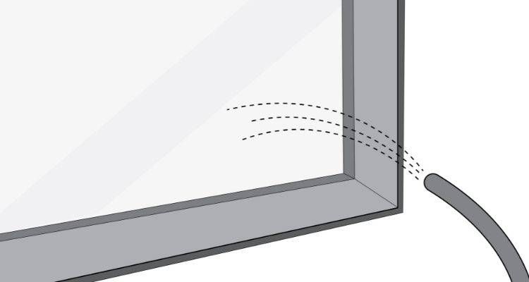 how to clean exterior windows step 2
