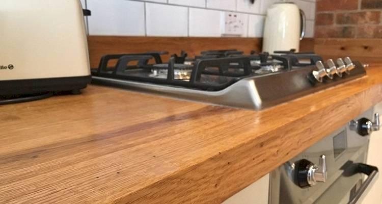 solid wood worktop cost