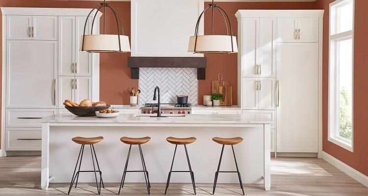 kitchen space and storage