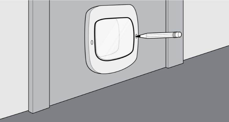 how to fit a cat flap step 4