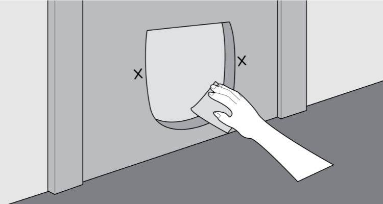 how to fit a cat flap step 5