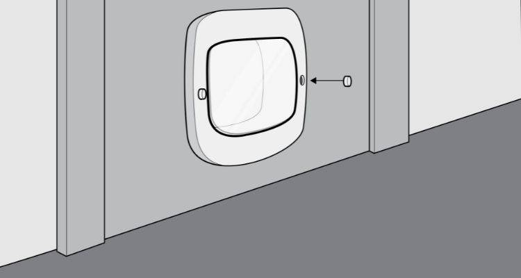 how to fit a cat flap step 8