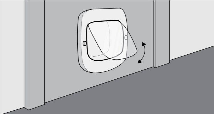 how to fit a cat flap step 9