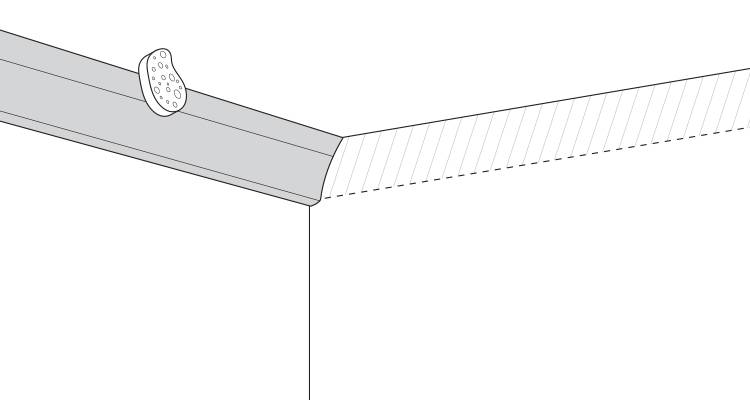 how to fit coving step 6