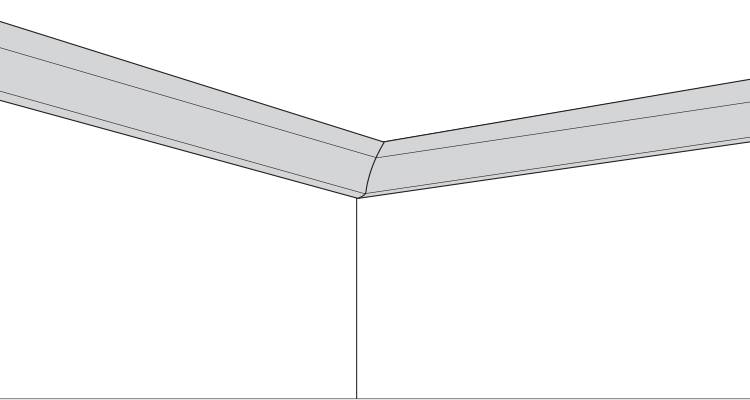 how to fit coving step 8