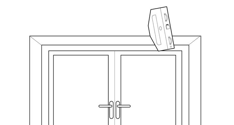 how to fit a curtain pole 2
