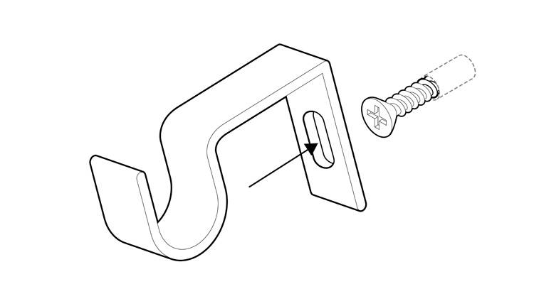 how to fit a curtain pole 5