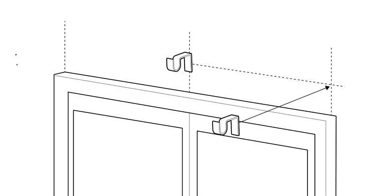 how to fit a curtain pole 7