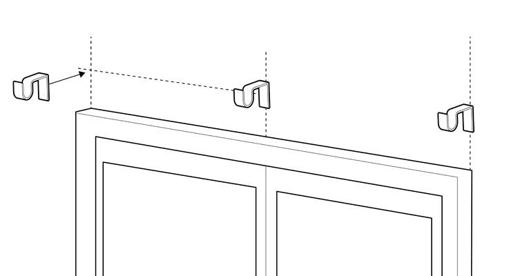 how to fit a curtain pole 8