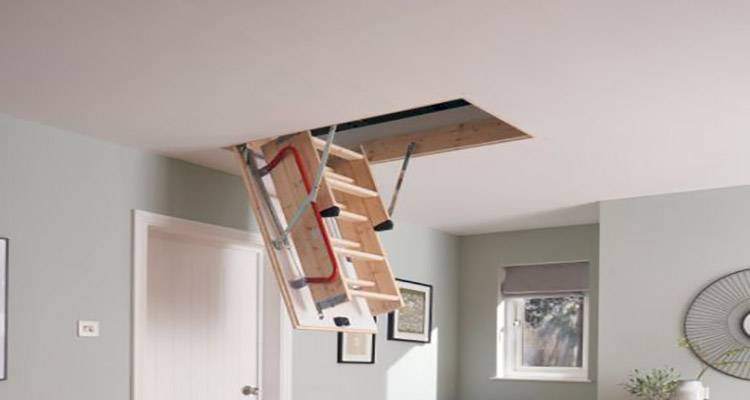 how to fit a loft ladder 1