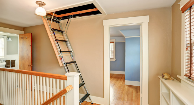 how to fit a loft ladder