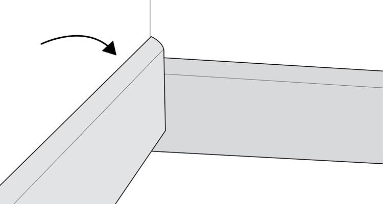 how to install skirting boards step 6