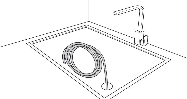 how to fix a blocked sink step 5