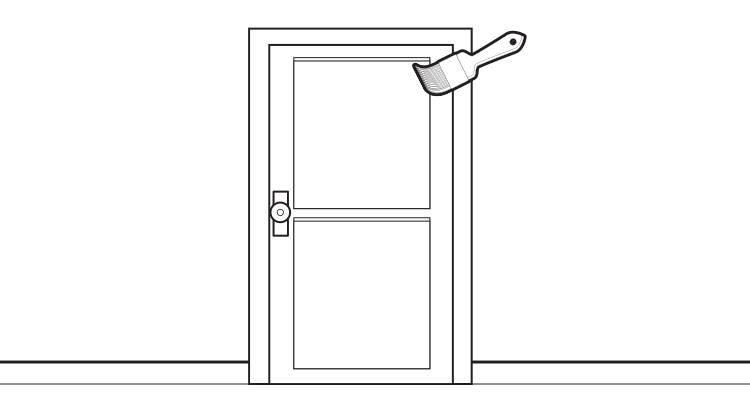 how to hang an internal door step 10>