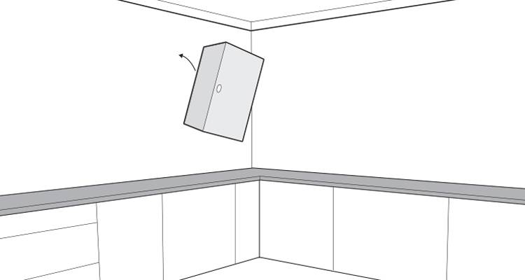 how to hang a wall cabinet step 10