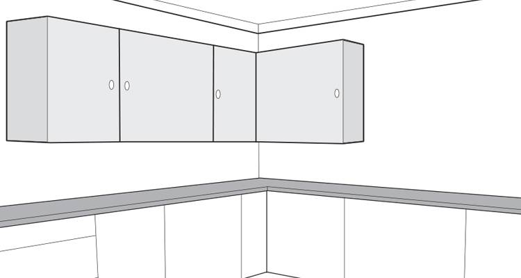 how to hang a wall cabinet step 12