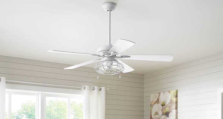 how to fit a ceiling fan step 3