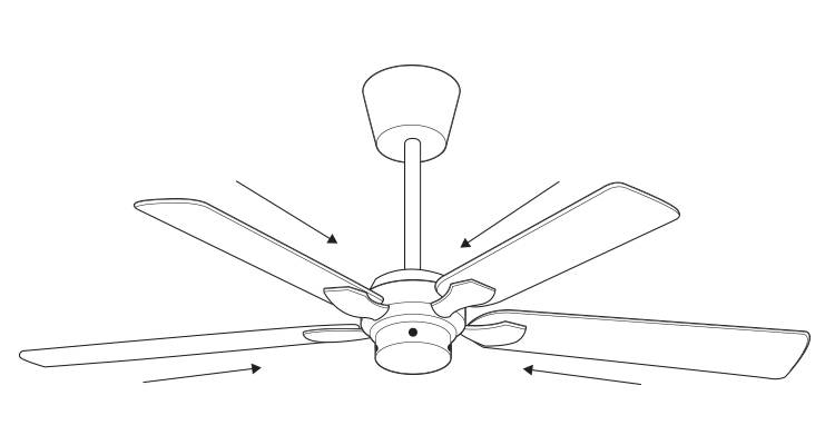 how to fit a ceiling fan step 6