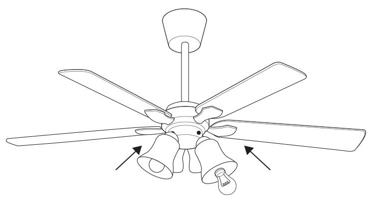 how to fit a ceiling fan step 7