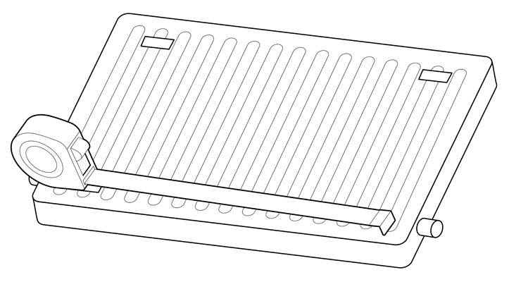 how to install a radiator step 3