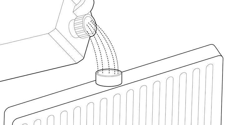 how to install a radiator step 10