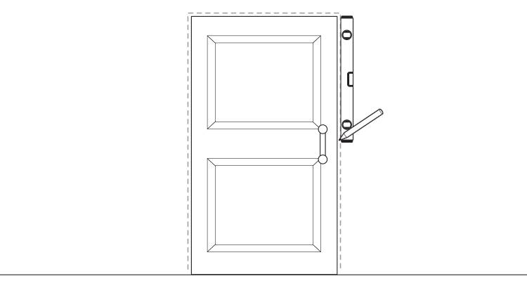 how to put up architrave step 1