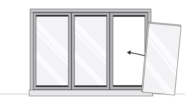 install bifold door 10