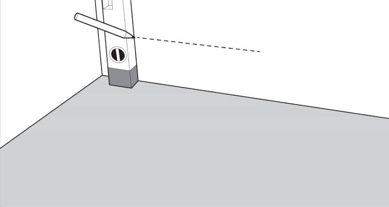 How to install garden decking step 2