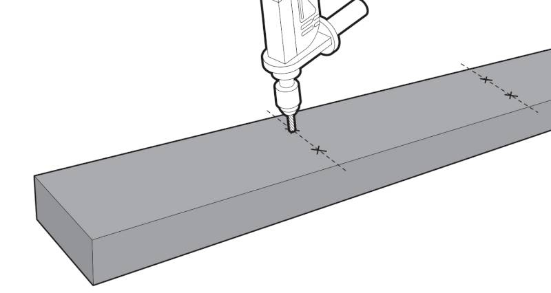 How to install garden decking step 3