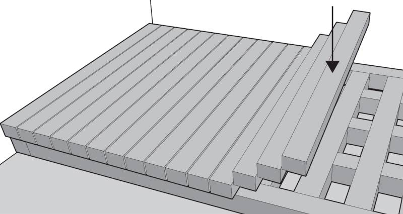 How to install garden decking step 13