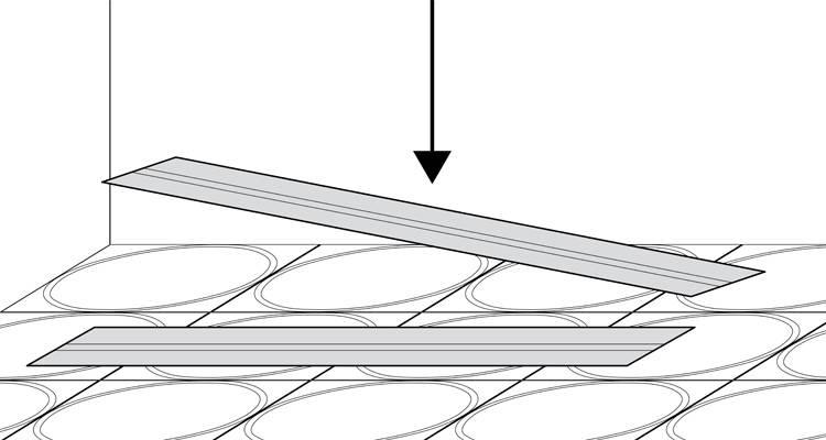 how to install wet underfloor heating step 3
